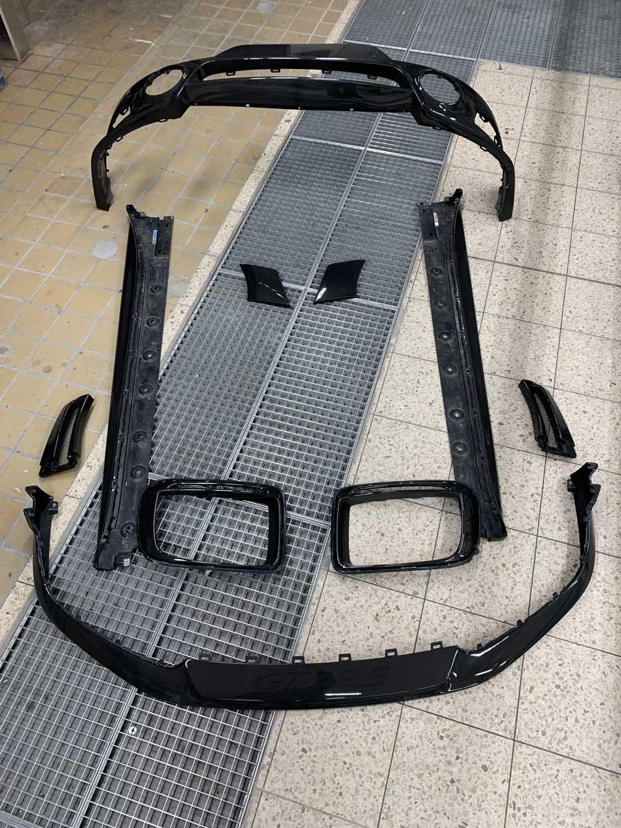 Carbon Teile für Porsche